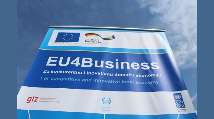 """EU Provides Support To Small And Medium Enterprises From Tešanj And The Region Through The Project """"FAB-LAB – Economy Based On Innovation"""""""