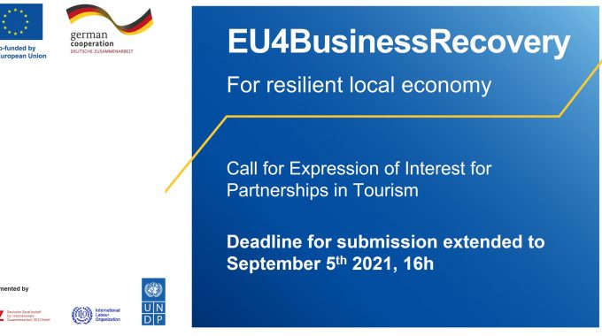 DEADLINE FOR EXPRESSION OF INTEREST IN TOURISM PARTNERSHIPS EXTENDED